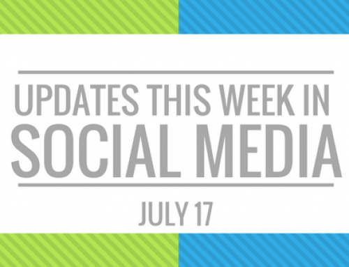 Your Weekly Social Media Update- July 17