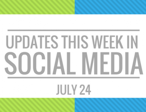 Your Weekly Social Media Update – July 24