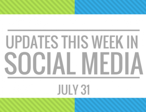 Your Weekly Social Media Update- July 31